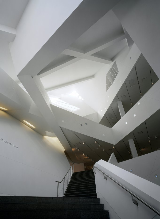 Deconstructivism Furniture Interior Design ~ Denver art museum by daniel libeskind archibillion